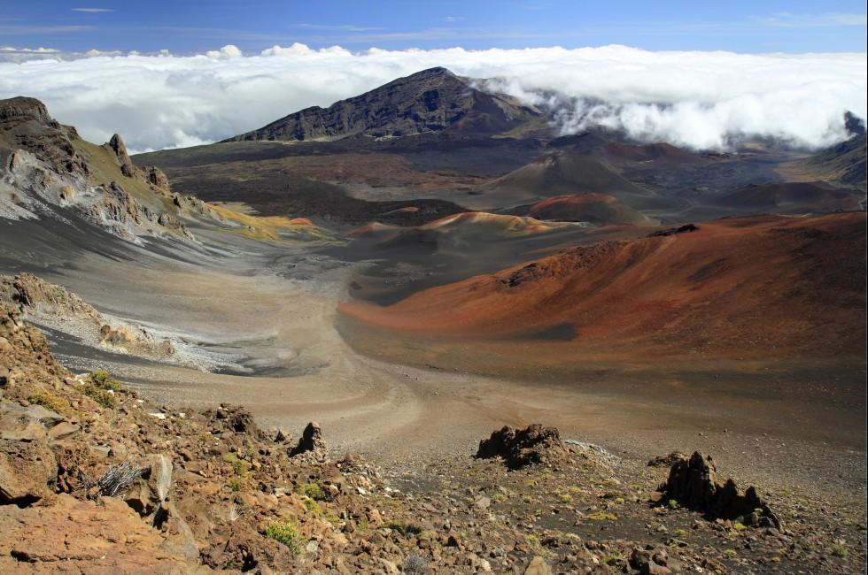 Haleakala Crater, Haleakala National Park, Maui, Hawaii, USA