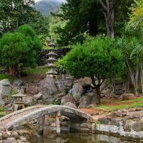 Japanese Garden, Kepaniwai Park and Heritage Gardens, Central Maui, Maui, Hawaii, USA