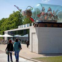 Nelson's Ship in a Bottle, Sculpture, National Maritime Museum, London, England