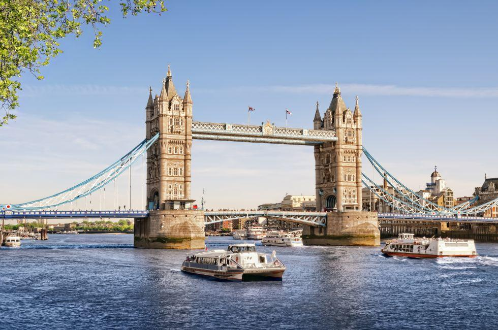 Tower Bridge, The City, London, England, Europe
