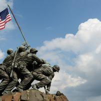 Iwo Jima statue, Washington, D.C., USA