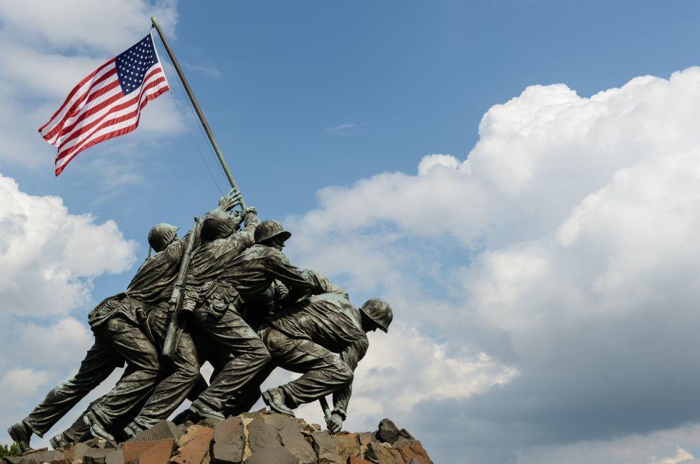 Iwo Jima statue, Washington, D.C., USA