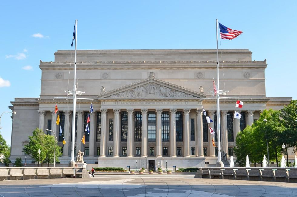 National Archives, Washington, D.C., USA