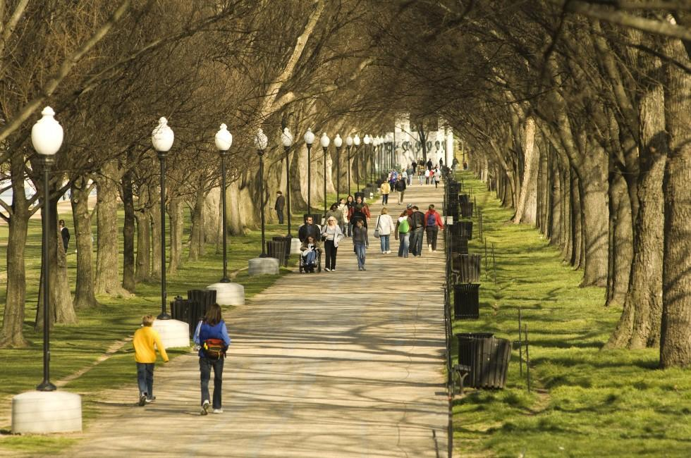 Path, The Mall, Washington, D.C., USA