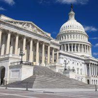 United States Capitol Building, Capitol Hill, Washington, D.C., USA, North America