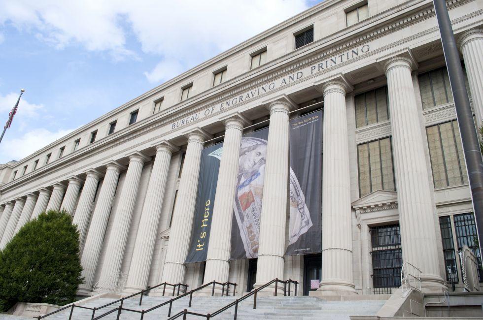 Bureau of Engraving and Printing, Washington DC, USA, North America