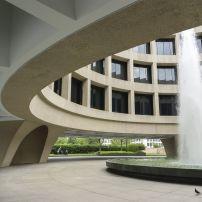 Hirshhorn Museum and Sculpture Garden; The Mall, Washington, D.C., USA
