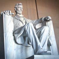 Lincoln Memorial, The Mall, Washington, D.C., USA.