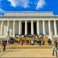 Lincoln Memorial, The Mall, Washington, D.C., USA.