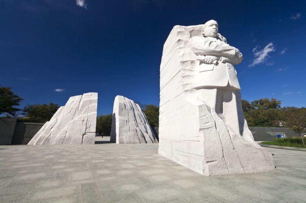 Martin Luther King Jr. National Memorial, The Mall, Washington, D.C., USA