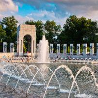 The National World War II Memorial, The Mall, Washington, D.C., USA