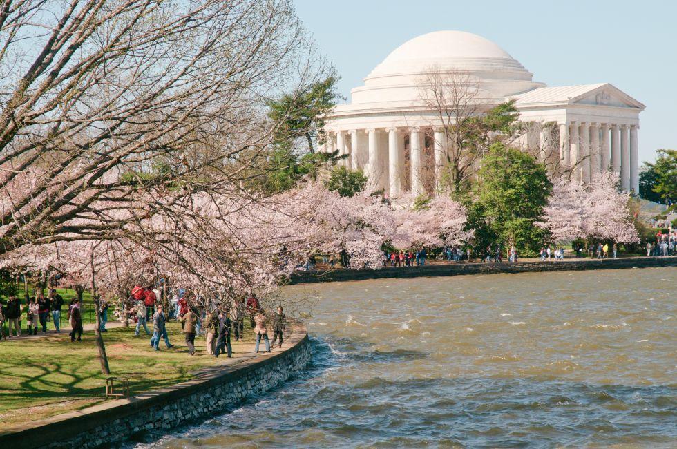 Thomas Jefferson Memorial, The Mall, Washington D.C., USA, North America