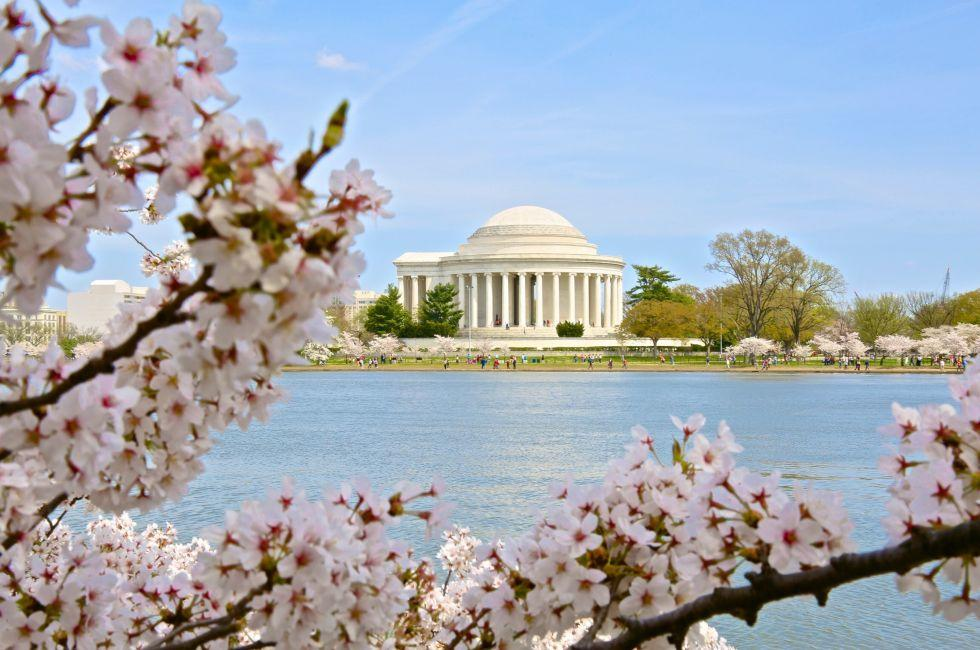 Thomas Jefferson Memorial, The Mall, Washington D.C., USA, North America