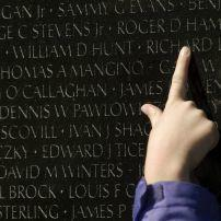 Vietnam Veterans Memorial, The Mall, Washington, D.C., USA.