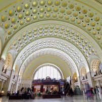 Interior, Union Station, Washington, D.C., USA.