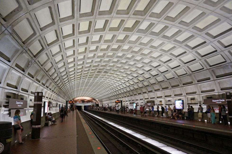 Dupont Circle Metro Stop, Dupont Circle, Washington D.C.