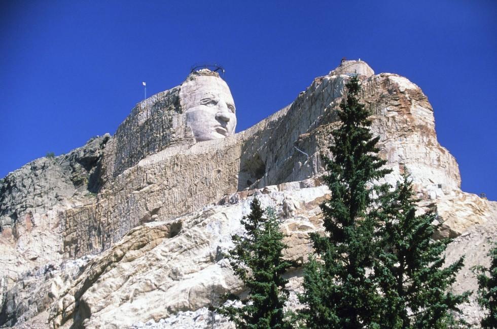 Crazy Horse Memorial, Custer County, South Dakota, USA