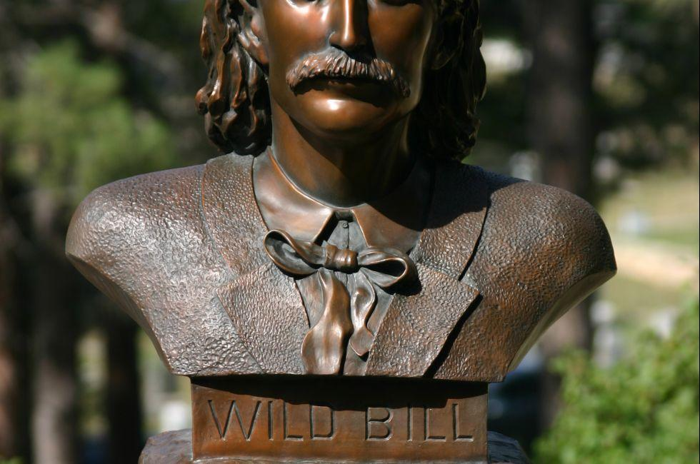 Wild Bill Hickok Grave, Deadwood, South Dakota