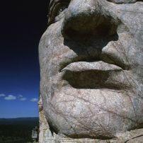 The Crazy Horse Memorial , Custer County, South Dakota;
