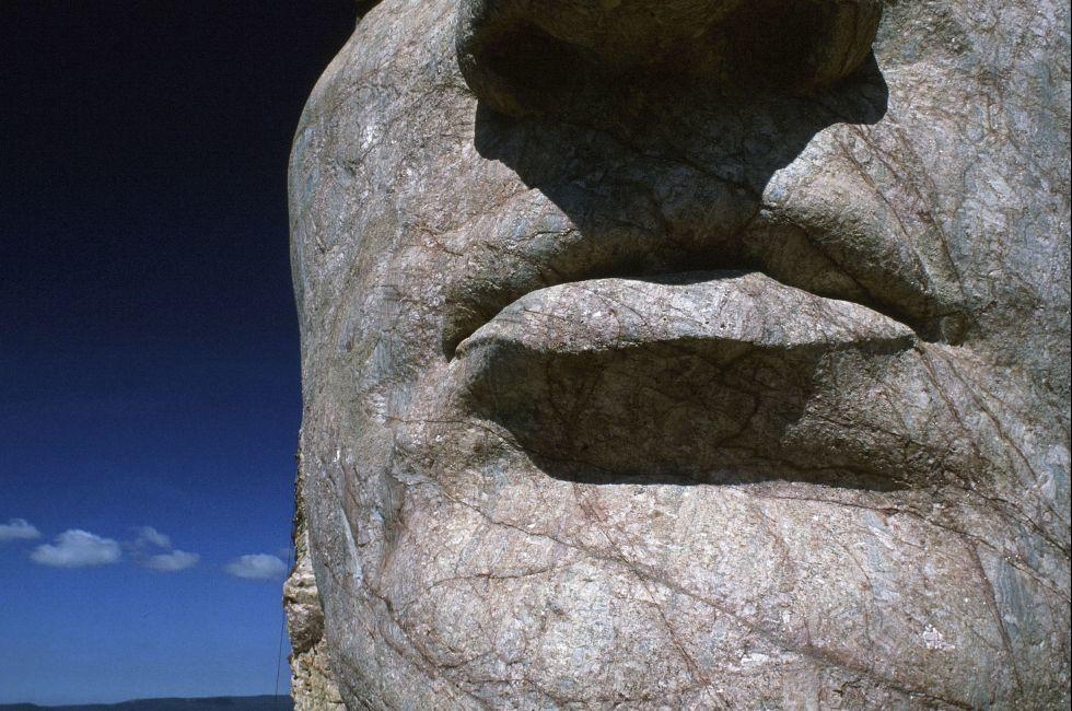 The Crazy Horse Memorial , Custer County, South Dakota;