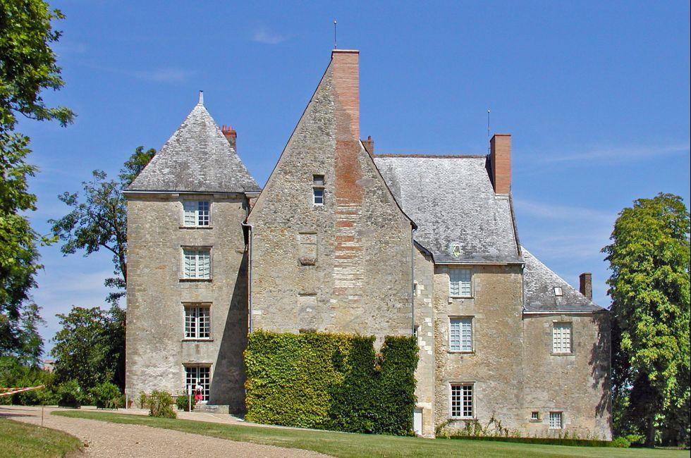 Exterior, Chateau de Sache, Sache, The Loire Valley, France