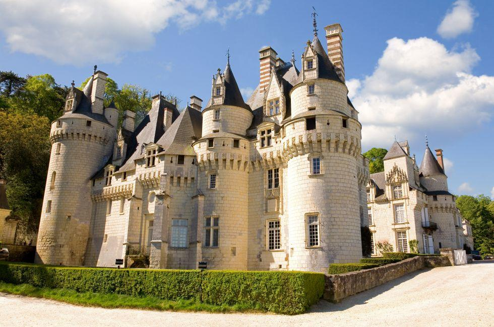 Exterior, Chateau d'Usse, Usse, The Loire Valley, France