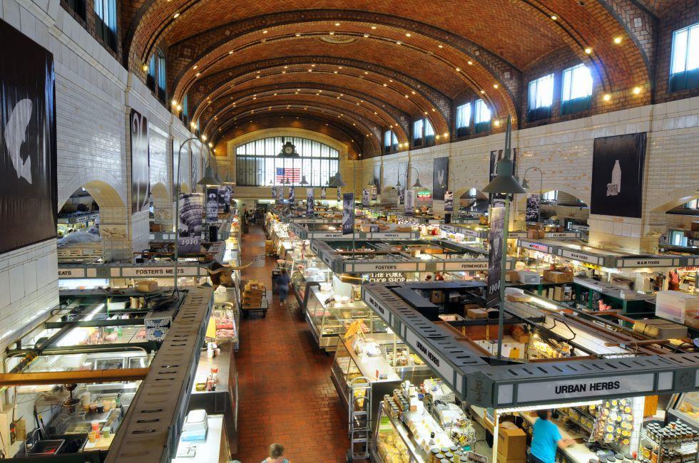 West Side Market, Cleveland, Ohio, USA