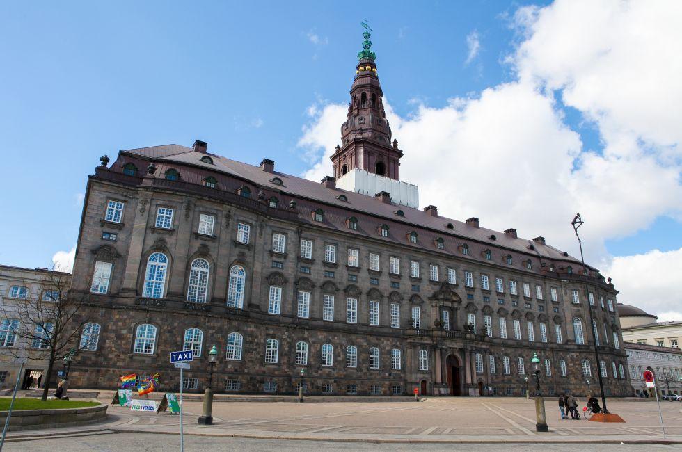 Christiansborg Slot, Copenhagen, Denmark