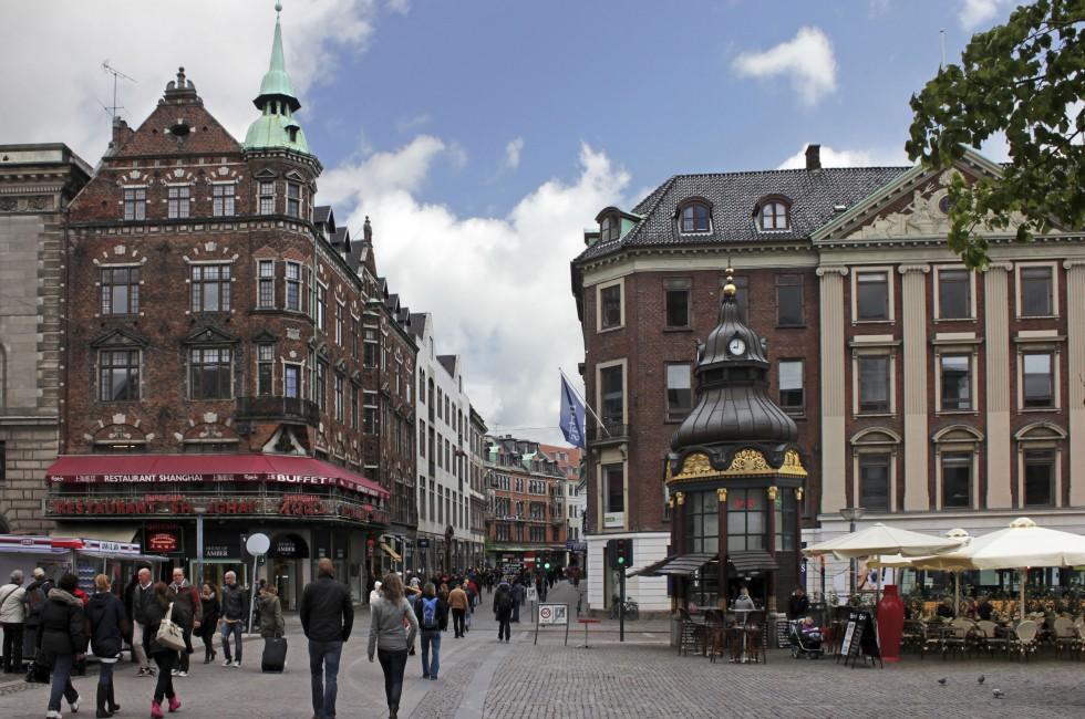 Shopping, Stroget, Copenhagen, Denmark
