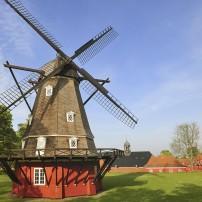 Windmill, Kastellet, Copenhagen, Denmark