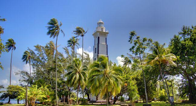 Lighthouse, Venus Point, Tahiti, Fench Polynesia