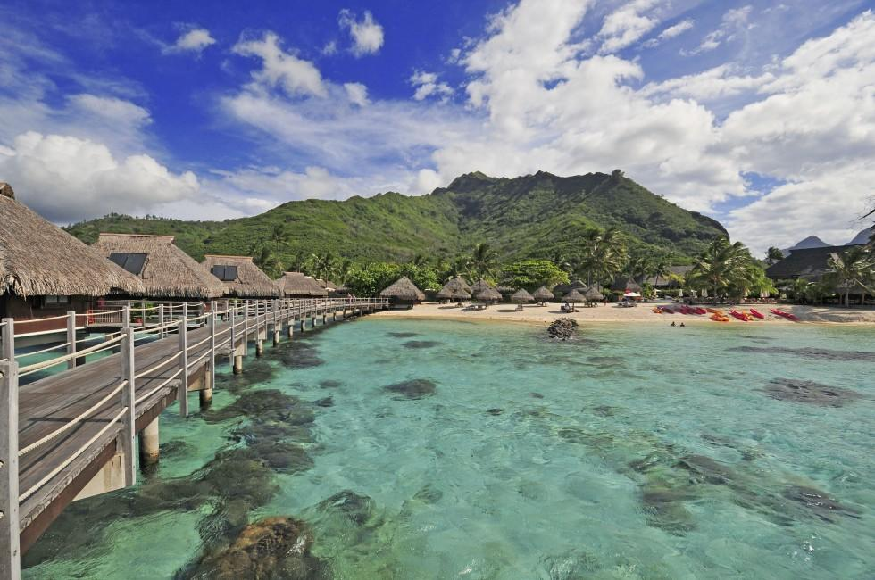 Resort, Hotel, Beach, Moorea, French Polynesia