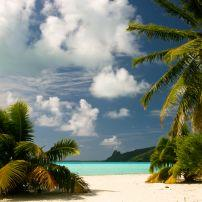 Beach, Maupiti, French Polynesia, Society Islands