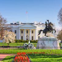 The White House, The White House Area and Foggy Bottom, Washington, D.C., USA