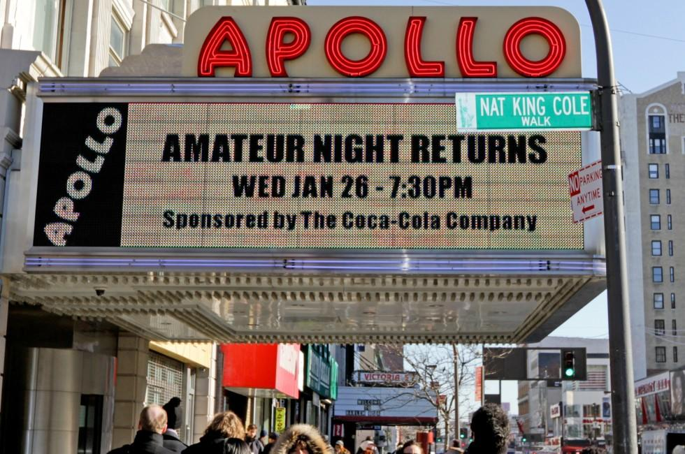 Apollo Theater, Harlem, New York City, New York, USA