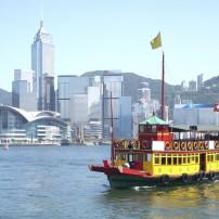 Boat, Cityscape, Hong Kong, China