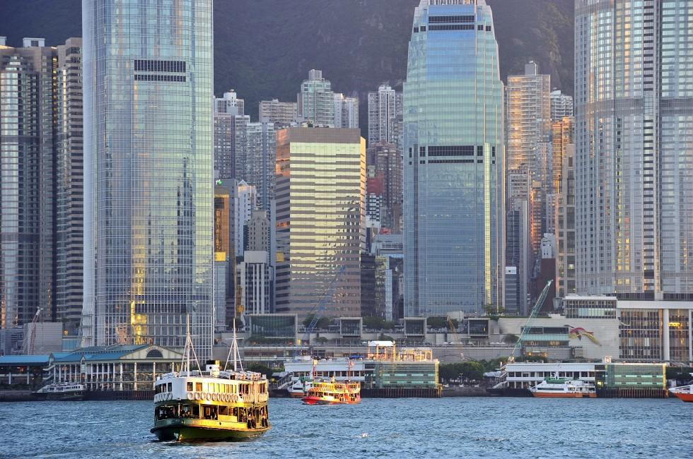 Cityscape, Central, Hong Kong, China