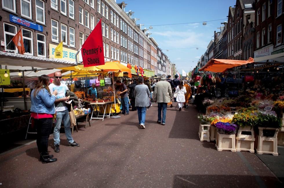 Albert Cuyp Market, The Pijp, Amsterdam, Holland