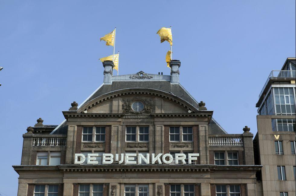 De Bijenkorf, Amsterdam, Netherlands; Europe