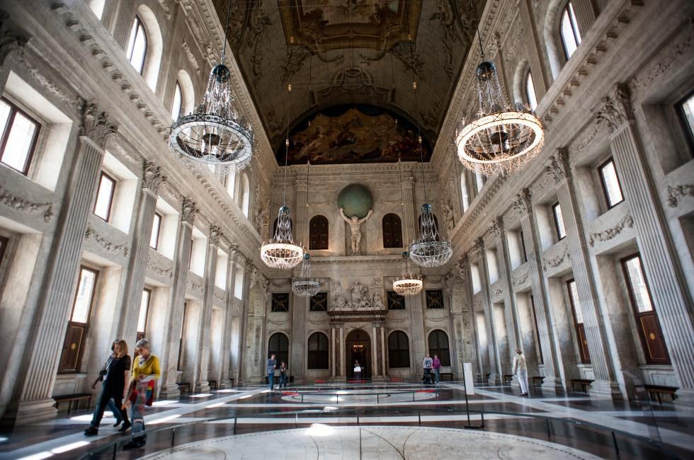 Het Koninklijk Paleis, Amsterdam, Holland