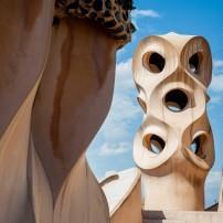 Chimneys, Casa Mila, Barcelona
