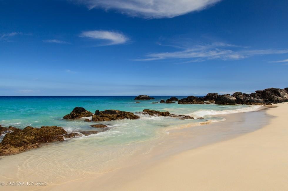 Beach, Kekaha Kai State Park, Mahaiula Side, Kailua-Kona, Big Island, Hawaii, USA