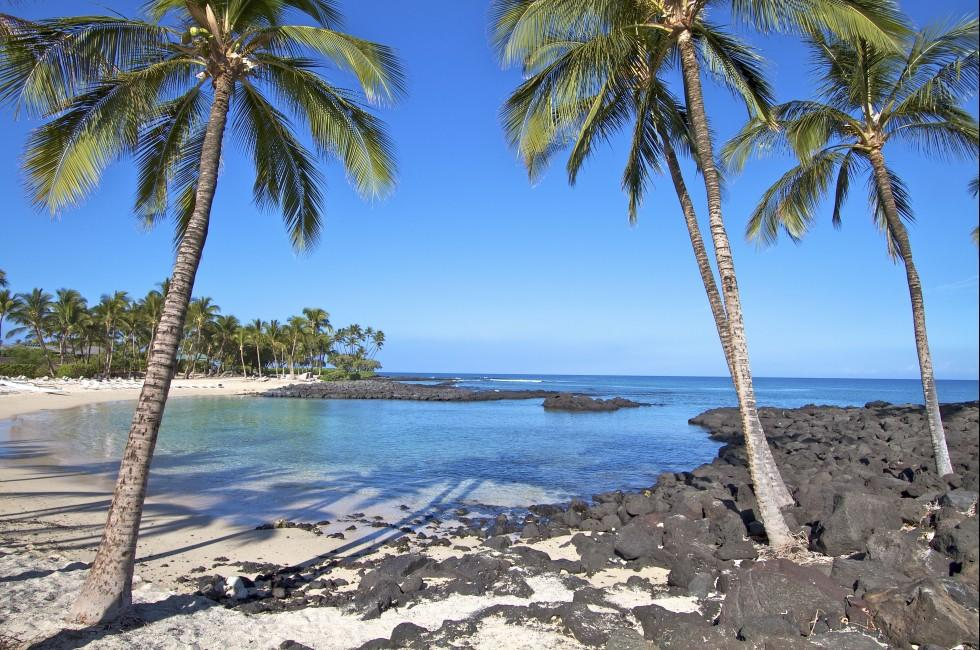 Big Island beach, Hawaii, USA