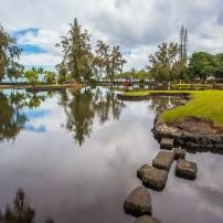 Japanese Garden, Hilo, Big Island, Hawaii, USA