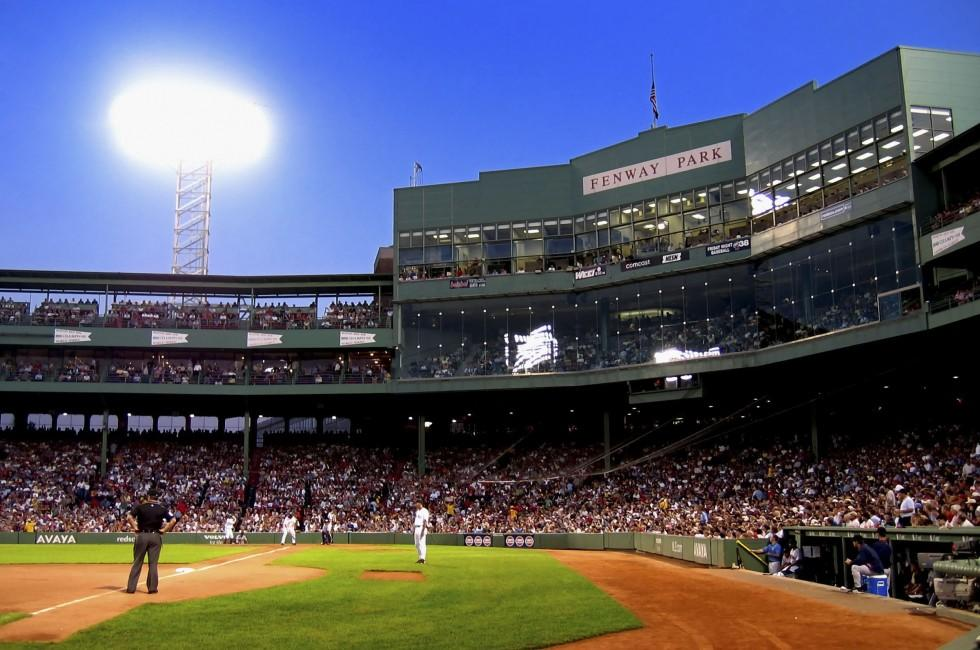Baseball Game, The Fenway, Boston, Massachusetts, USA