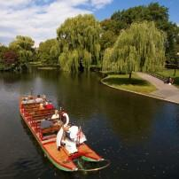 Swam Boat, Boston Public Garden, Boston, Massachusetts, USA