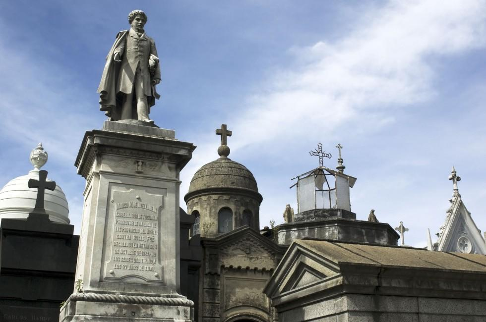 Statues, Recoleta and Almagro, Buenos Aires, Argentina