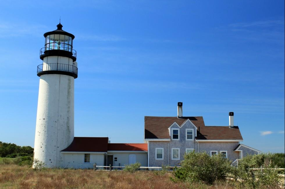 Lighthouse, Truro, Cape Cod, Massachusetts, USA