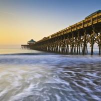 Folly Beach, Charleston, South Carolina, USA