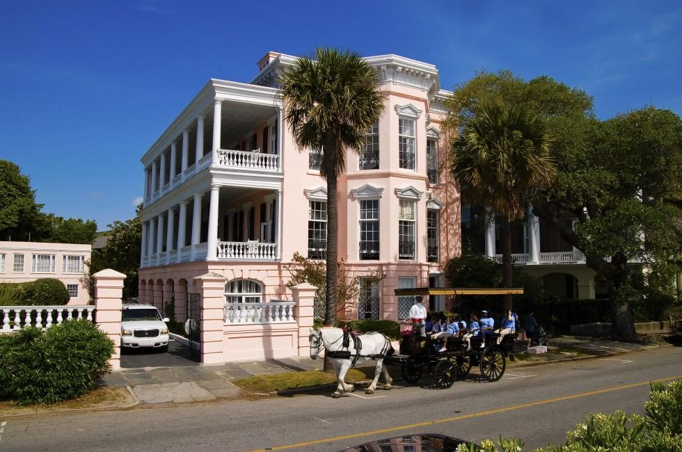 Pink House, Charleston, South Carolina, USA